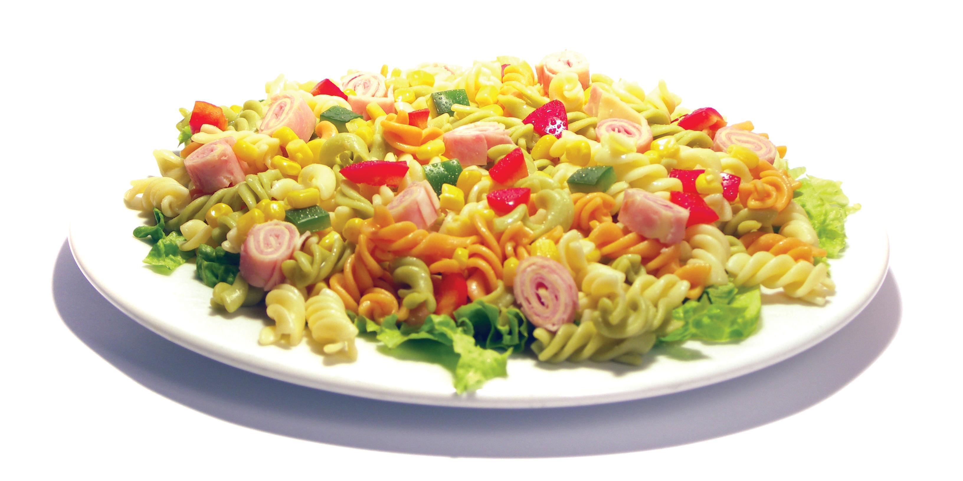 Ensalada tropical de pasta y pi a por pastas roma - Ensalada fresca de pasta ...