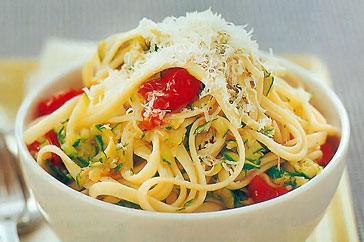 spaghetti con zuccini