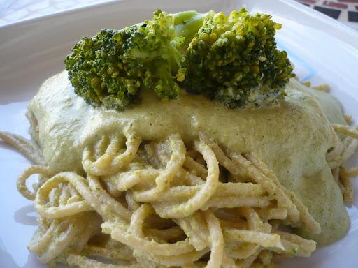 Salsa de brócoli