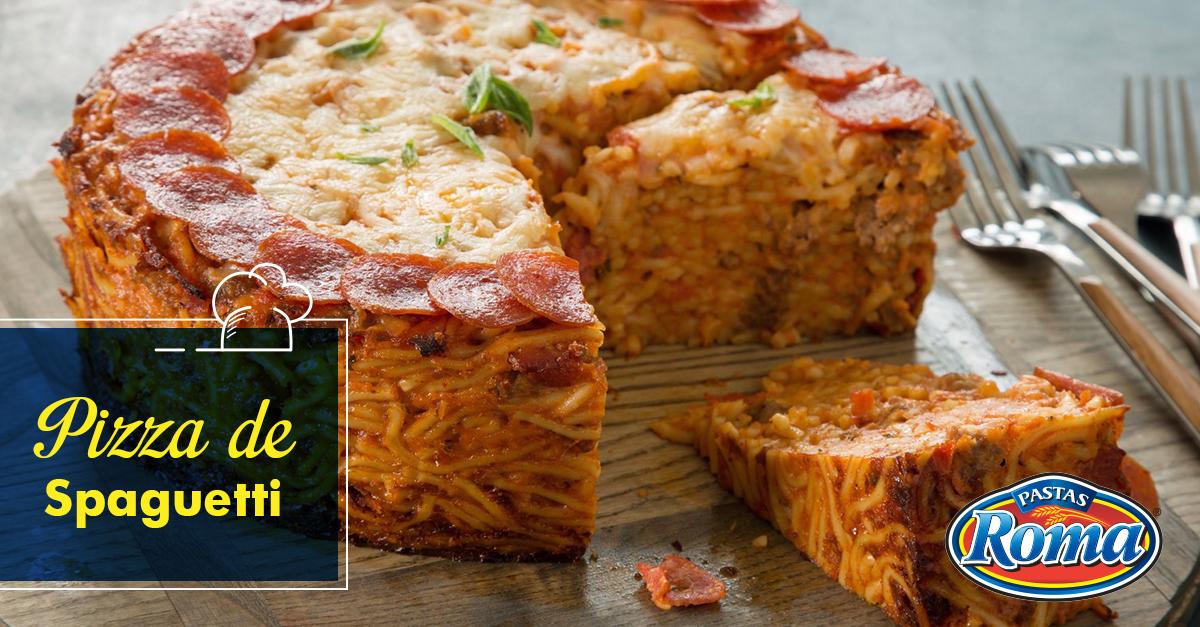 pizza spaguetti