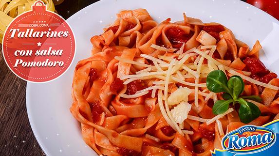 tallarines-pomodoro