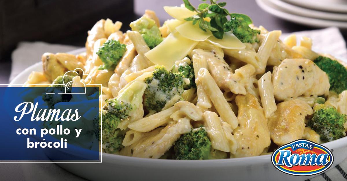 pasta pollo brocoli