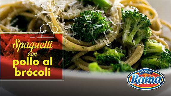 spaguetti-pollo-brocoli