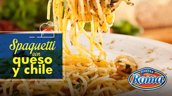 spaguetti-queso-chile