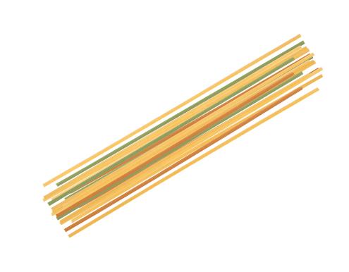 Spaguetti-tricolor