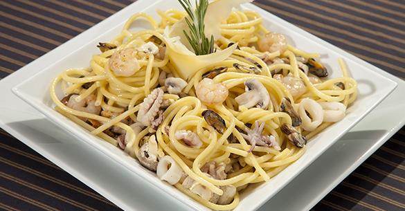 spaghetti camarones