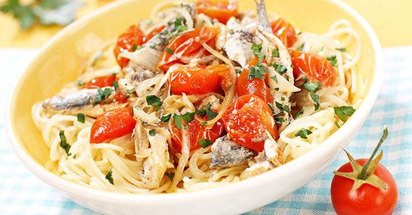 spaghetti sardina