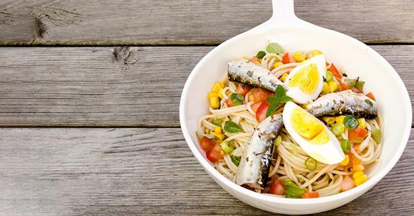spaghetti sardinas