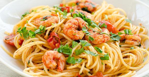 spaghetti camaron