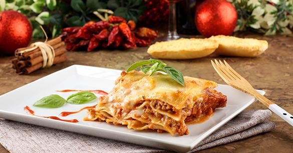 lasagna navidad