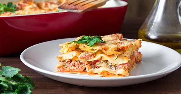 lasagna atun